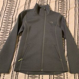 The North Face olive jacket